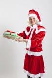 Эльф хелпера Santa Claus Стоковое Изображение
