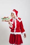 Эльф хелпера Santa Claus Стоковые Фотографии RF
