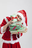 Эльф хелпера Santa Claus Стоковая Фотография