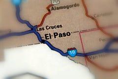 Эль-Пасо, Техас - Соединенные Штаты США Стоковые Изображения RF