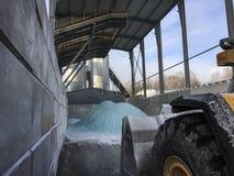 Эмаль места захоронения отходов как промежуточное звено Стоковое фото RF