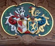 эмблема средневековая стоковая фотография