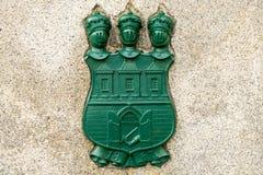 Эмблема столицы Праги стоковые изображения