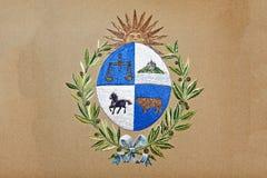 эмблема Уругвай Стоковое фото RF