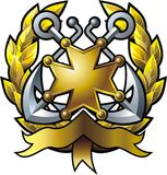 эмблема Стоковые Изображения RF
