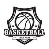Эмблема баскетбола стоковое изображение