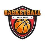 Эмблема баскетбола стоковые фото