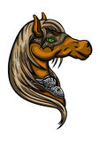 Эмблема головы лошади Стоковые Фото