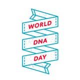 Эмблема приветствию дня дна мира Стоковые Фото