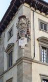 Эмблема старинного здания Стоковые Фото