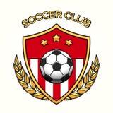 Эмблема футбольного клуба Стоковое Изображение RF