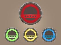 эмблема Стоковое фото RF