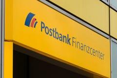 Эмблема Postbank стоковая фотография rf