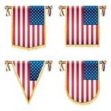 Эмблемы США иллюстрация вектора
