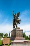 Эмир Timur памятника в Ташкенте, Узбекистане Стоковые Изображения