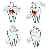 Эмоции зуба шаржа бесплатная иллюстрация