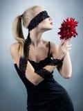 эмоциональная девушка стоковые фотографии rf