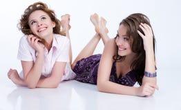 эмоциональные женщины молодые Стоковые Фото