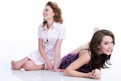 эмоциональные женщины молодые Стоковое фото RF