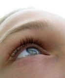 эмоциональный глаз Стоковое фото RF
