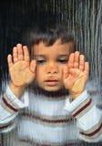 Эмоциональный мальчик Стоковое Фото