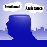 Эмоциональная помощь Стоковое Изображение RF