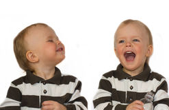 Эмоциональный ребенок Стоковое Фото