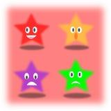 Эмоция звезды Стоковое Изображение