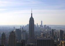 Эмпайр Стейт Билдинг Нью-Йорка Манхаттана Стоковая Фотография RF
