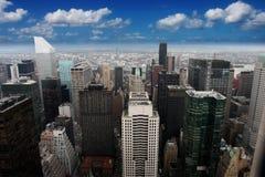 Эмпайр Стейт Билдинг, Нью-Йорк (Манхаттан, США) Стоковая Фотография