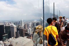 Эмпайр Стейт Билдинг, Нью-Йорк (Манхаттан, США) Стоковая Фотография RF