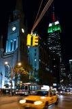 Эмпайр Стейт Билдинг Нью-Йорк стоковые изображения rf