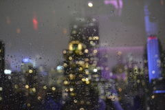 Эмпайр Стейт Билдинг от окна Стоковые Фотографии RF