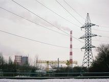 Энергетика Жара и электричество Стоковые Изображения