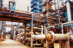 Энергетическая промышленность нефти и газ Стоковое Фото