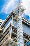 Энергетическая установка биомассы Стоковая Фотография