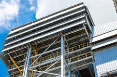Энергетическая установка биомассы Стоковое Изображение RF