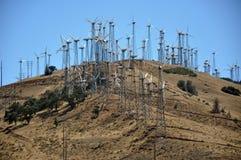 энергии ветрянки завтра стоковая фотография rf