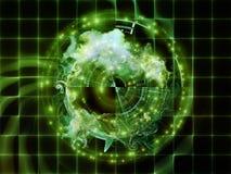 Энергия абстрактного визуализирования Стоковые Изображения RF