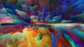 Энергия абстрактного ландшафта бесплатная иллюстрация