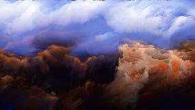Энергия атмосферы чужеземца Стоковые Изображения RF