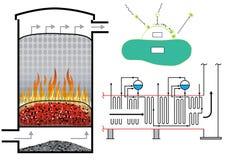 Энергия биомассы иллюстрация штока