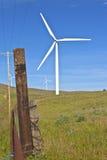 Энергия ветра восточный Вашингтон. Стоковая Фотография
