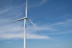 Энергия ветра на горе Стоковое Фото