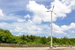 Энергия ветра - турбины Стоковое Фото
