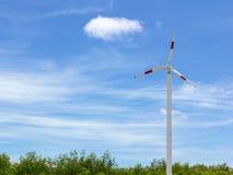 Энергия ветра - турбины Стоковое Изображение RF