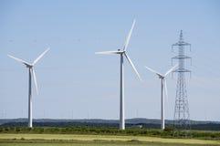 Энергия ветра стоковое изображение