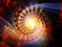 Энергия внутреннего движения Стоковая Фотография RF