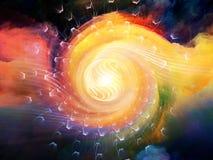 Энергия внутреннего движения Стоковые Изображения