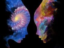 Энергия внутренних цветов Стоковая Фотография